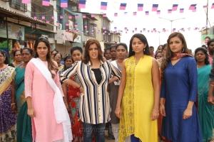 Subhiksha, Varalaxmi, Aishwarya Dutta, Ashna Zaveri in Kannitheevu Movie Photos