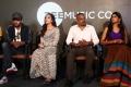 Dulquer Salmaan, Ritu Varma, Gautham Menon, Niranjani Ahathian @ Kannum Kannum Kollaiyadithaal Thanks Meet Stills