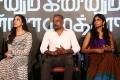 Ritu Varma, Gautham Menon, Niranjani Ahathian @ Kannum Kannum Kollaiyadithaal Thanks Meet Stills