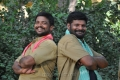 Karthir, Ganja Karuppu in Kantharvan Tamil Movie Stills