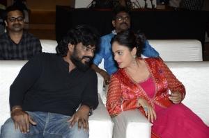 Pradeep Krishnamoorthy, Nanditha Swetha @ Kapatadhaari Movie Pre Release Event Stills