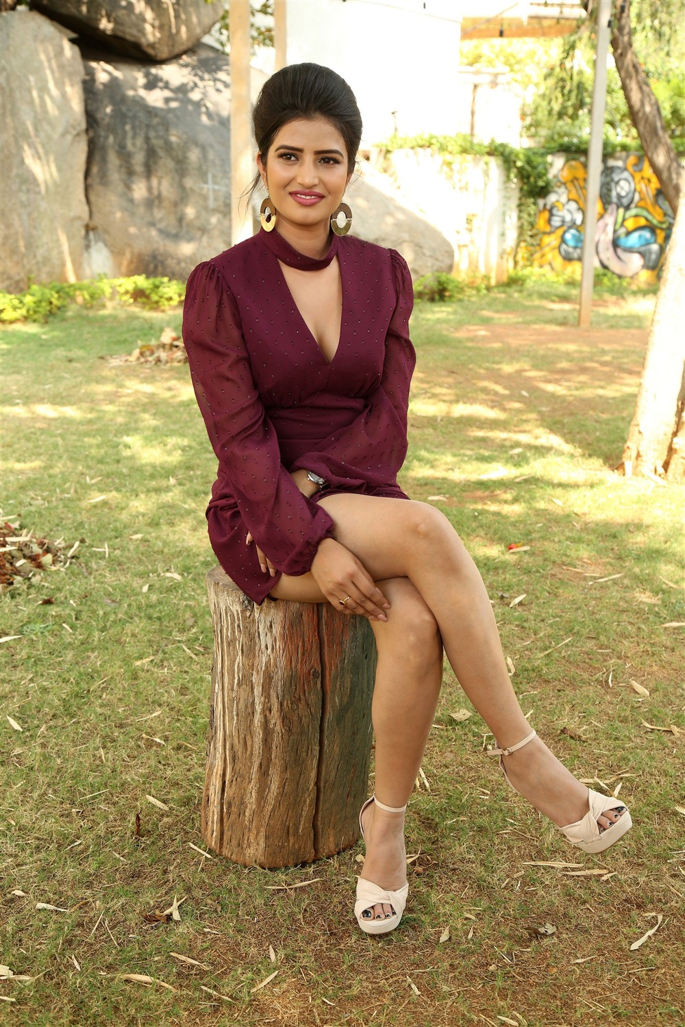 Actress Karishma Koul Photos @ Prema Parichayam Movie Opening