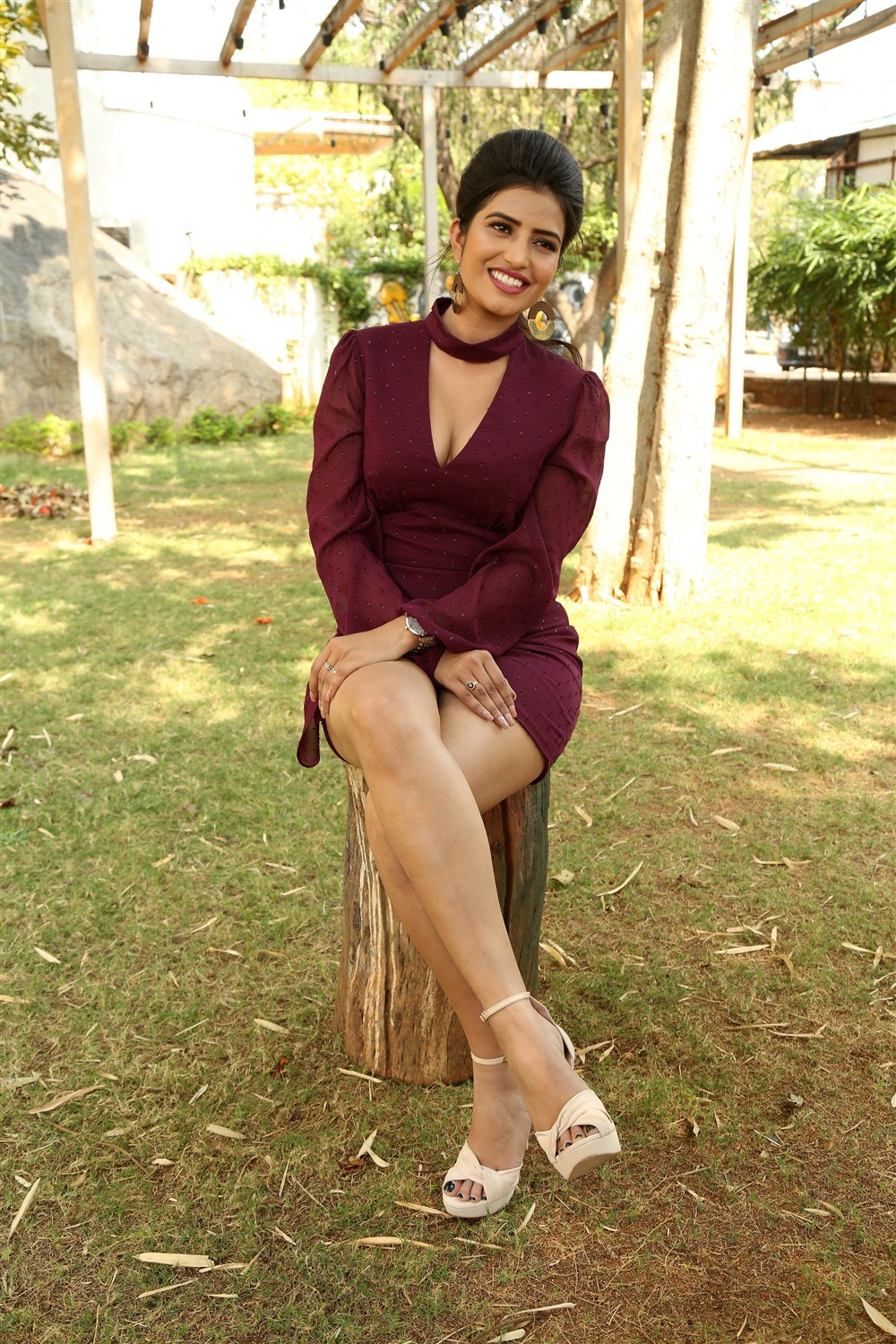 Actress Karishma Koul Photos @ Prema Parichayam Movie Launch