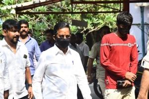 Kalaipuli S. Thanu @ Karnan Movie Audio Launch Stills
