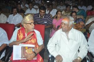 PB Srinivas, MS Viswanathan at Karnan Movie 150 Days Celebration Stills