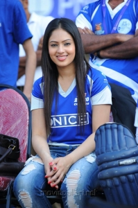 Nikesha Patel Stills at CCL Match