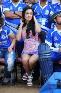 Hot Madhuri Bhattacharya Stills at CCL Match