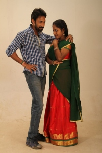 Madhu, Abhinitha in Karpavai Katrapin Movie Stills