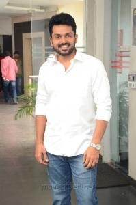 Hero Karthi Photos @ Chinna Babu Movie Interview
