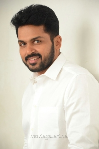 Chinna Babu Movie Actor Karthi Interview Photos