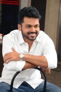 Chinna Babu Movie Hero Karthi Interview Photos