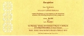 Karthik Sivakumar Marriage Invitation Card