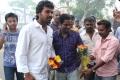 Saguni Movie Hero Karthi visits AGS Cinemas