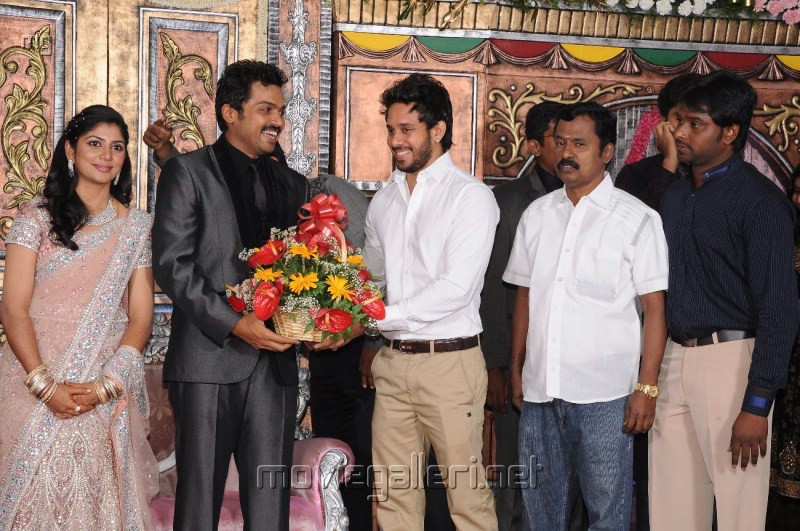 Bharath @ Karthi Ranjani Wedding Reception Photos