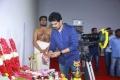 Producer SR Prabhu @ Karthi Rashmika Mandanna Movie Pooja Stills