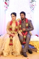Satna Titus Karthik Wedding Reception Stills