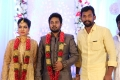 Bharani @ Karthik Satna Titus Wedding Reception Stills