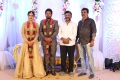 T Siva @ Karthik Satna Titus Wedding Reception Stills