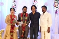 SJ Suryah @ Karthik Satna Titus Wedding Reception Stills