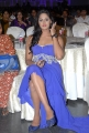 Telugu Actress Karthika Hot Stills in Blue Long Dress