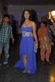 Telugu Actress Karthika Nair Hot Stills in Blue Long Dress