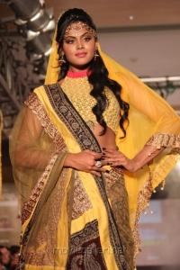 Karthika Nair Ramp Walk at Chennai International Fashion Week 2012