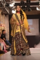 Actress Karthika wlks the ramp at CIFW 2012