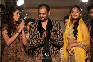 Actress Karthika for Shravan Kumar at CIFW 2012