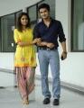 Swati, Nikhil in Karthikeya Telugu Movie Stills