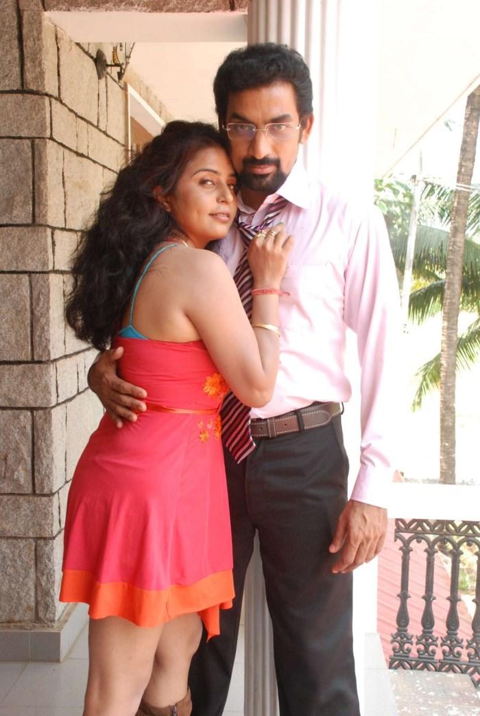 Prachi Adhikari, Mahesh Raja in Karumpuli Tamil Movie Stills