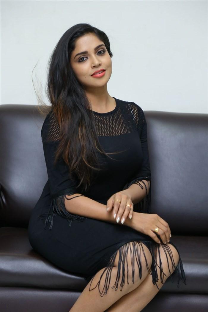 Actress Karunya Chowdary Photos @ Idho Prema Lokam Audio Launch