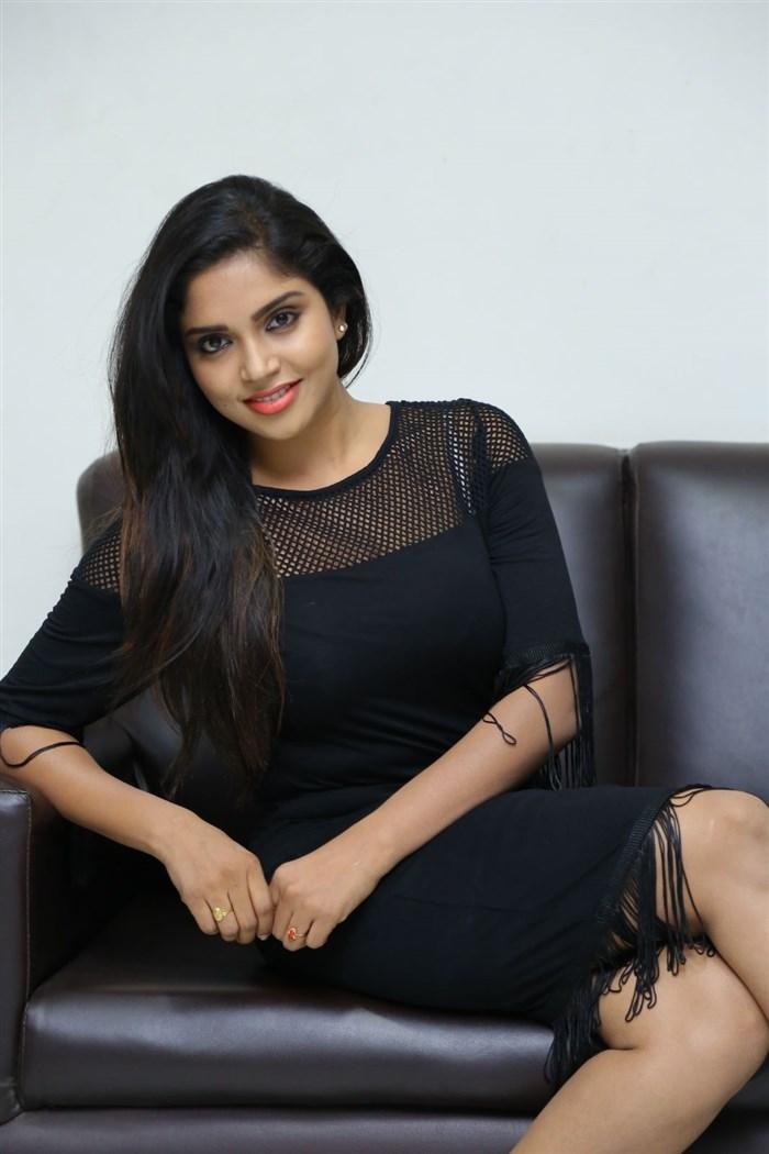 Actress Karunya Chowdary Photos @ Idho Prema Lokam Audio Release