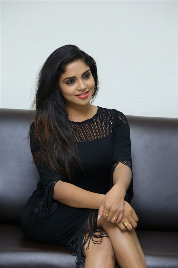 Actress Karunya Chowdary Photos @ Idho Prema Lokam Audio Release
