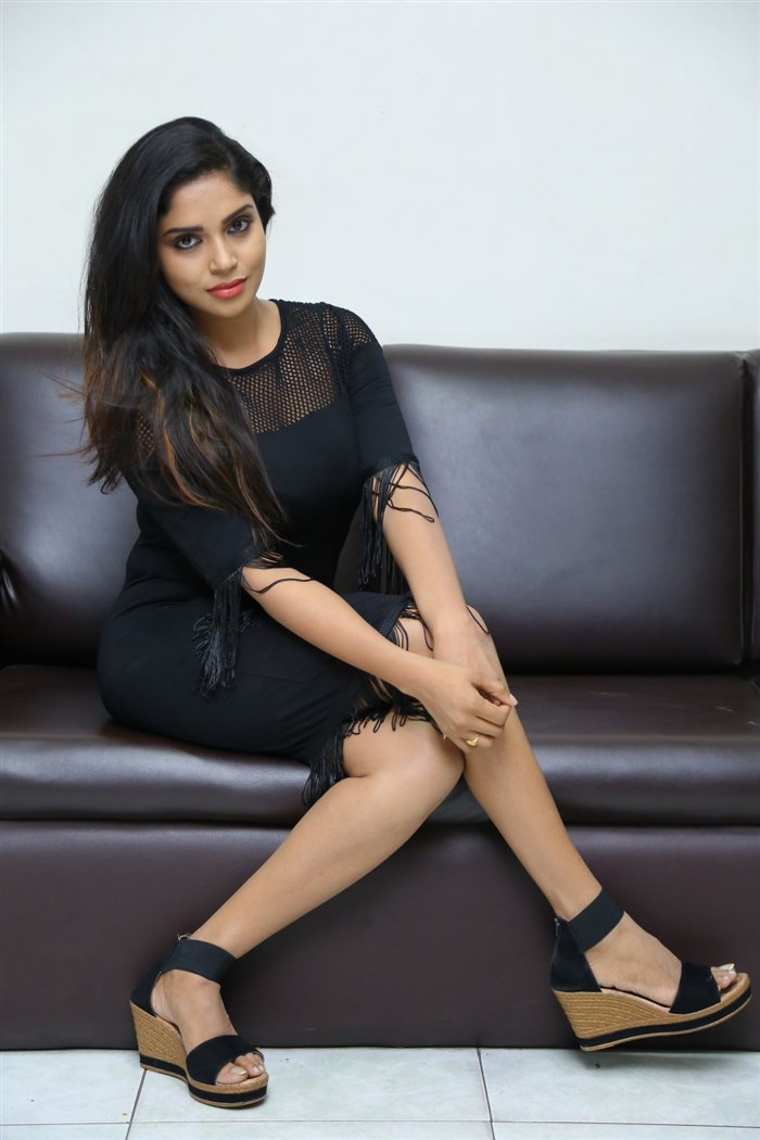 Actress Karunya Chowdary Photos @ Idho Prema Lokam Audio Launch