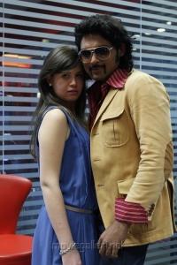 Alice Tantardini, Ajmal Ameer in Karuppampatti Movie Stills