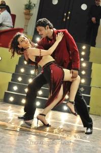 Archana Veda, Ajmal Ameer in Karuppampatti Movie Stills