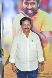Producer AM Rathnam @ Karuppan Movie Press Meet Stills