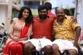 Tanya, Vijay Sethupathi, Singampuli in Karuppan Movie Stills