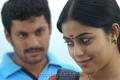 Akhil, Poorna at Karuvachi Movie Stills