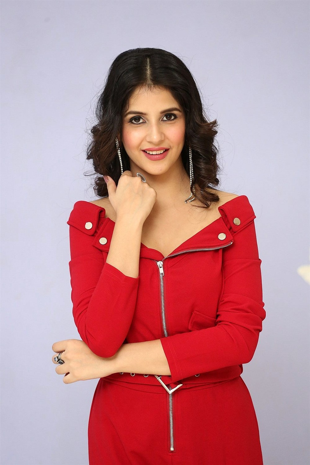 Actress Kashish Vohra Images @ First Rank Raju First Look Launch