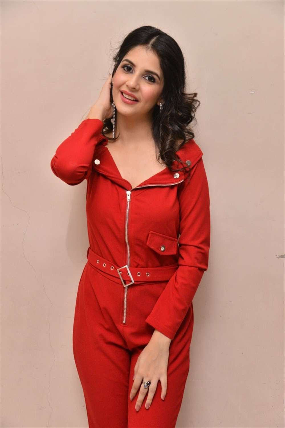 Actress Kashish Vohra Images @ First Rank Raju Teaser Launch