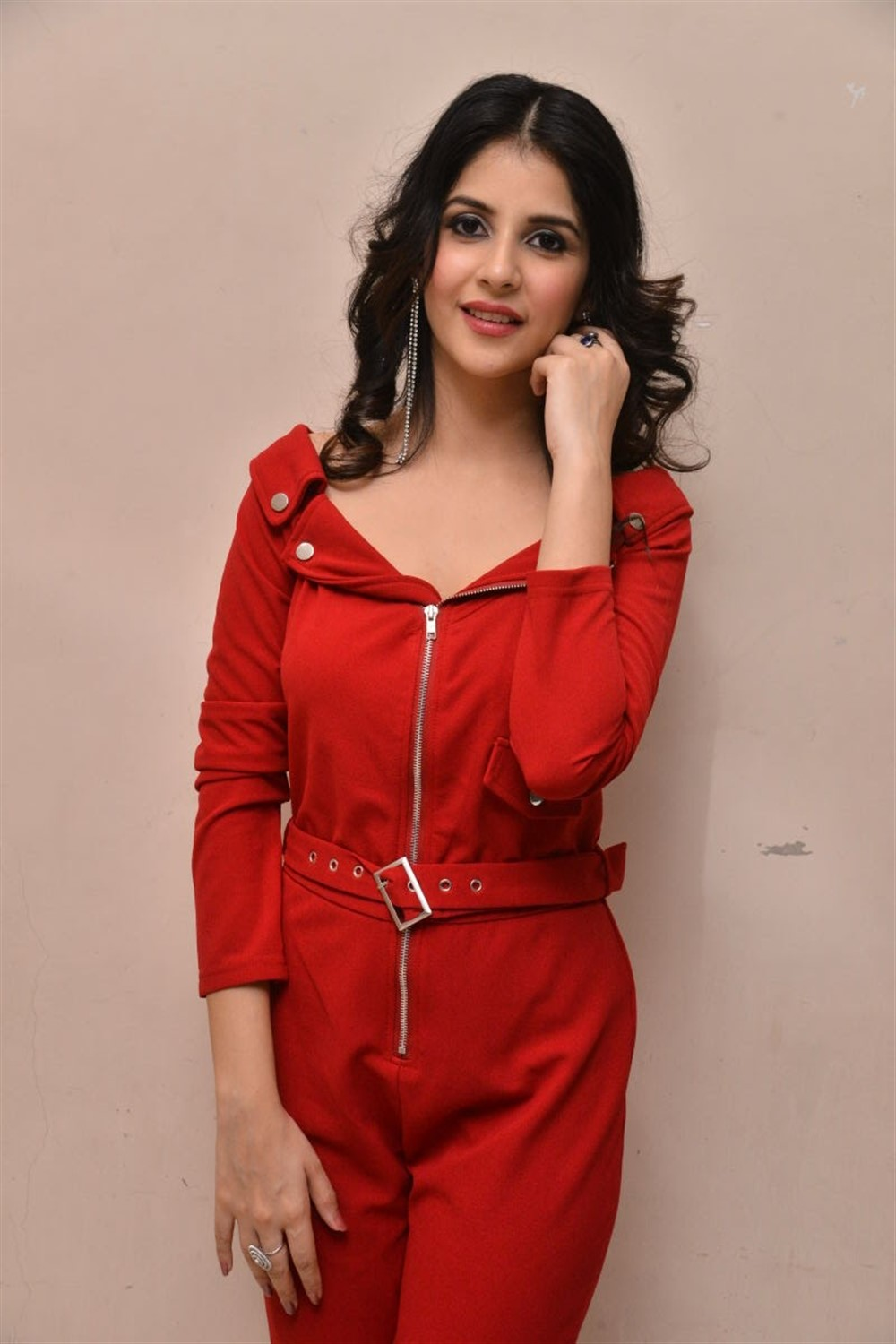 Actress Kashish Vohra Images @ 1st Rank Raju First Look Launch