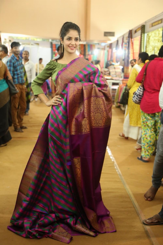 Actress Kashish Vohra Inaugurated National Silk Expo-2017 Photos