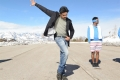 Actor Pawan Kalyan in Katamarayudu Emo Emo Song Stills