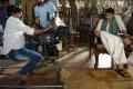 Cinematographer Prasad Murella, Pawan Kalyan @ Katamarayudu Working Stills
