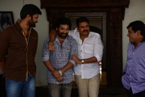 Kamal Kamaraju, Siva Balaji, Pawan Kalyan, Ali @ Katamarayudu Working Stills