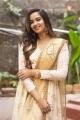 Actress Poojitha Ponnada @ Katha Kanchiki Manam Intiki Movie Opening Stills