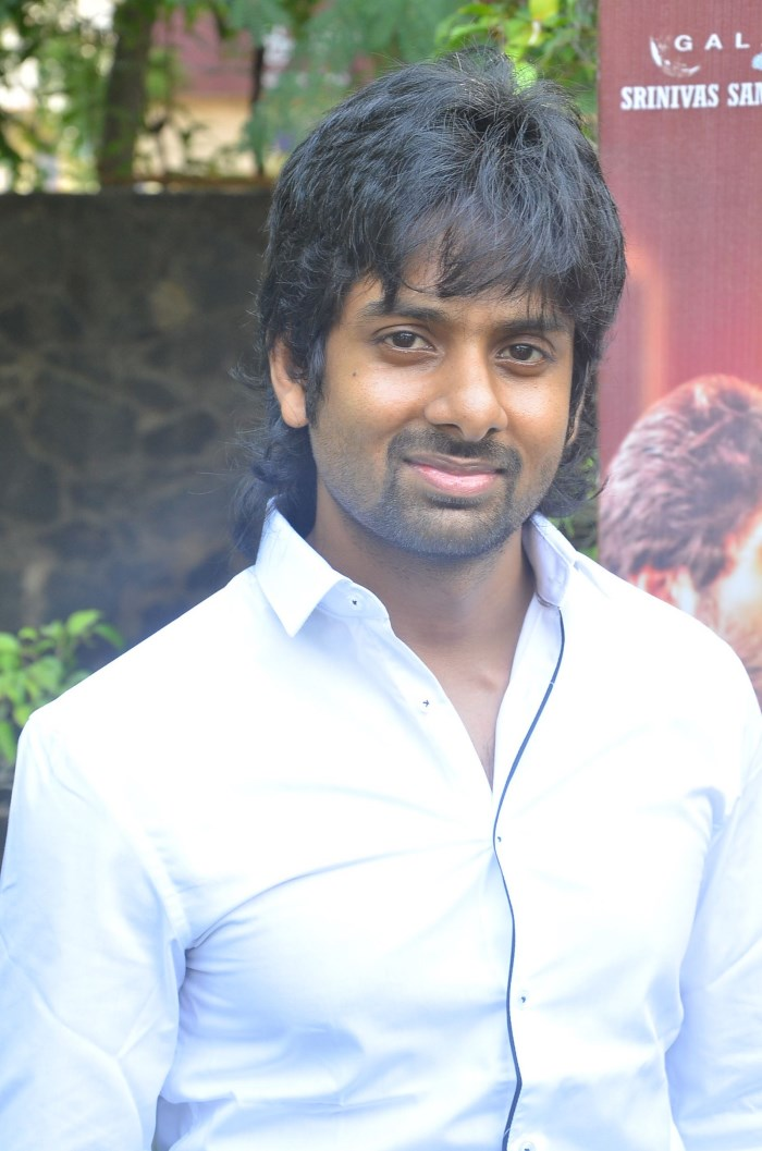 Actor Avishek @ Kathadi Movie Audio Launch Stills