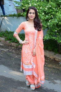 Actress Aksha Pardasany @ Kathi Lanti Kurradu Movie Opening Stills