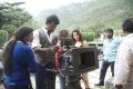 Kathi Sandai Movie Working Pics